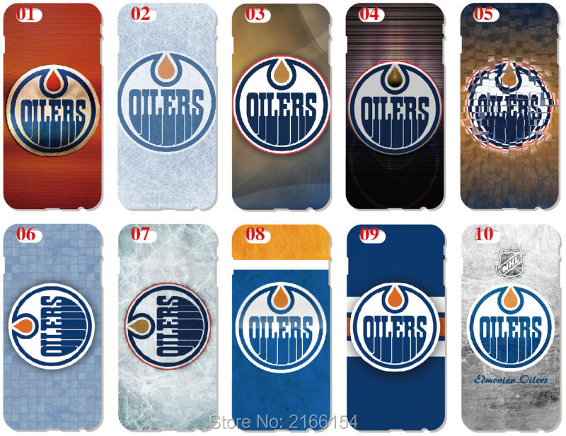 Edmonton Oilers Cover For iphone 10 X 4 4S 5 5S SE 5C 6 6S 7 8 Plus For iPod Touch 5 6 Phone Case Coque Fundas Bumper Shell
