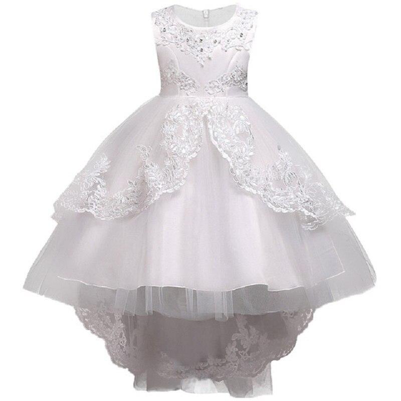 Flower     Girl     Dresses   Wedding Easter Junior Bridesmaid Princess   Girl     Dress   Sleeveless Children Christmas Party Toddler Vestidos