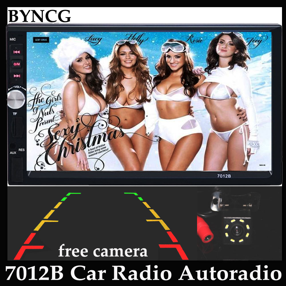 7012B Autoradio Car Radio Audio Stereo Bluetooth FM MP3 MP4 MP5 USB Player Auto with Rear View Camera 2 DIN 7 inch Touch Screen 2 din 7 car radio player hd rear view camera bluetooth stereo fm mp3 mp4 mp5 audio video usb auto electronics autoradio charger
