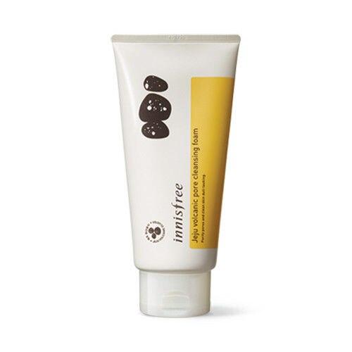 все цены на Korea Cosmetics Jeju Volcanic Pore Cleansing Foam 150ml Face Cleanser Black Head Acne Treatment Nose Blackhead Remover Peel