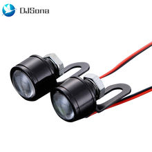 1 пара светодиодный стробоскоп соколиный глаз drl фонарь заднего