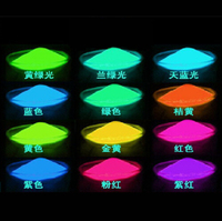 13 colors 1KG luminous glow powder super bright fluorescent powder luminous Acrylic paint DIY materials Noctilucent powder