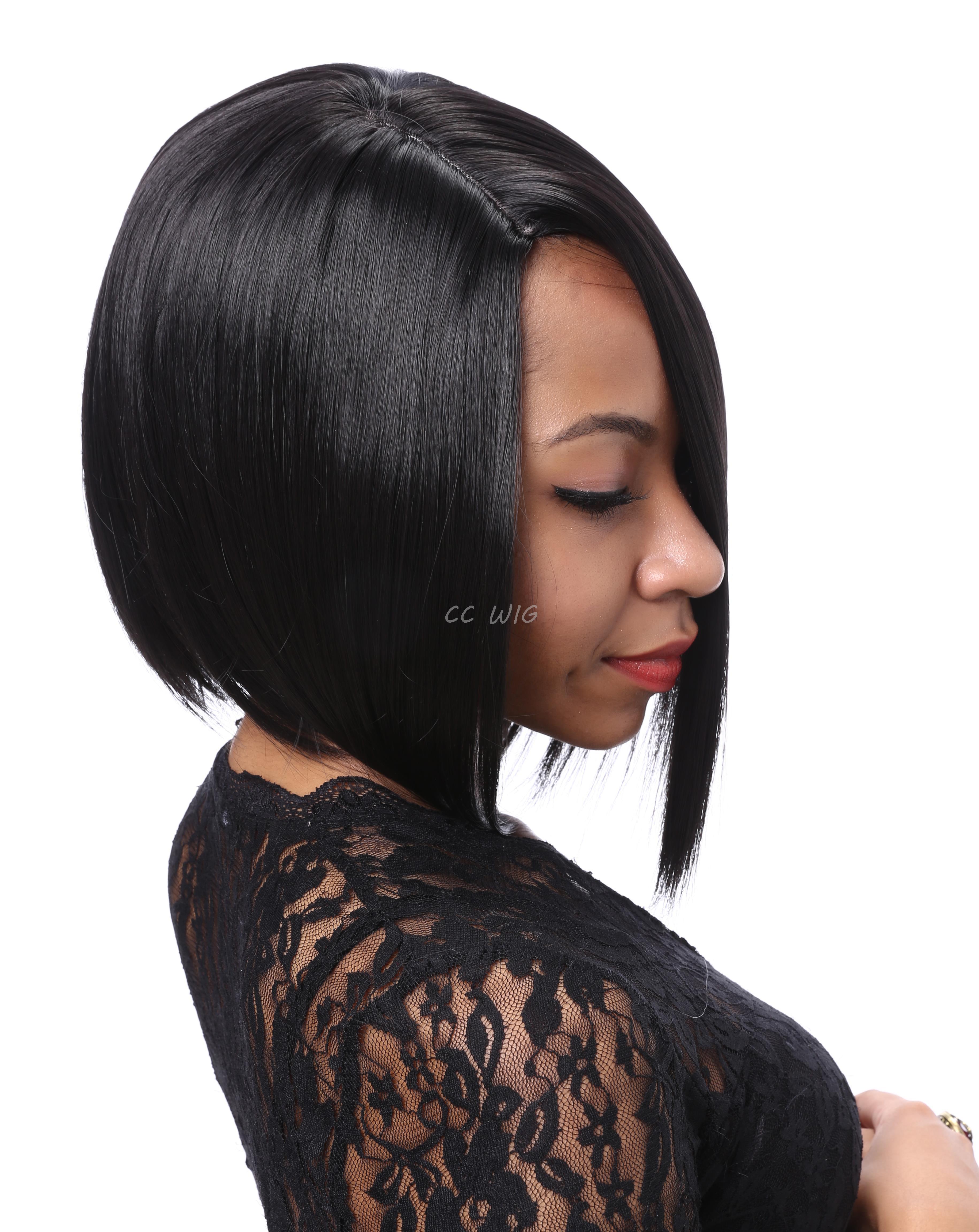 Short Black Bob Hairstyles Wig High Quality Wigs For Black Women