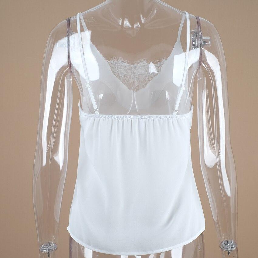Sexy Vest Simple Sleeveless Shirt 6