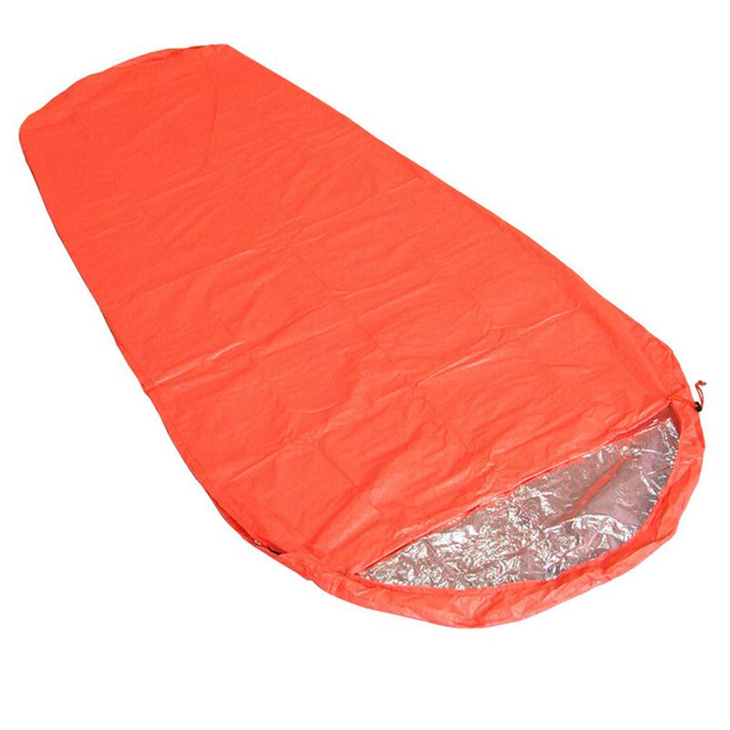 Outdoor Activities Mummy Camping Mountaineering Thermal Reflection Sleeping Bag Field Survival Equipment Picnic Blanket