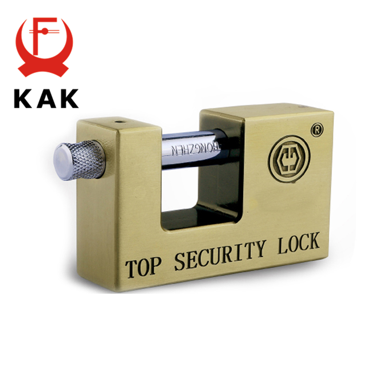 KAK E9 Series Archaize Super B Grade Padlocks Safe Anti-Theft Lock Rustproof Antique Bronze Top Security Locks For Home Hardware 2017 new arrival goldatom super b padlock anti theft foil lock 3540 3550 3560