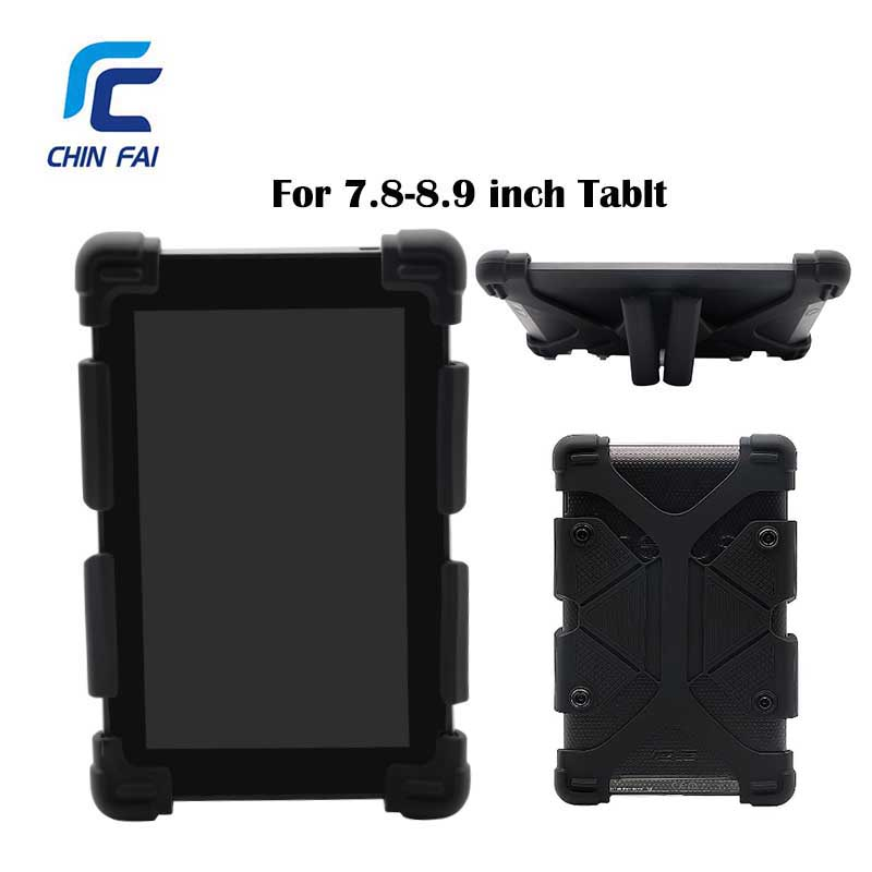 Universal Silicon Case For Samsung Huawei Xiaomi Asus Tablet 7 8 8 9 Inch Shockproof Case