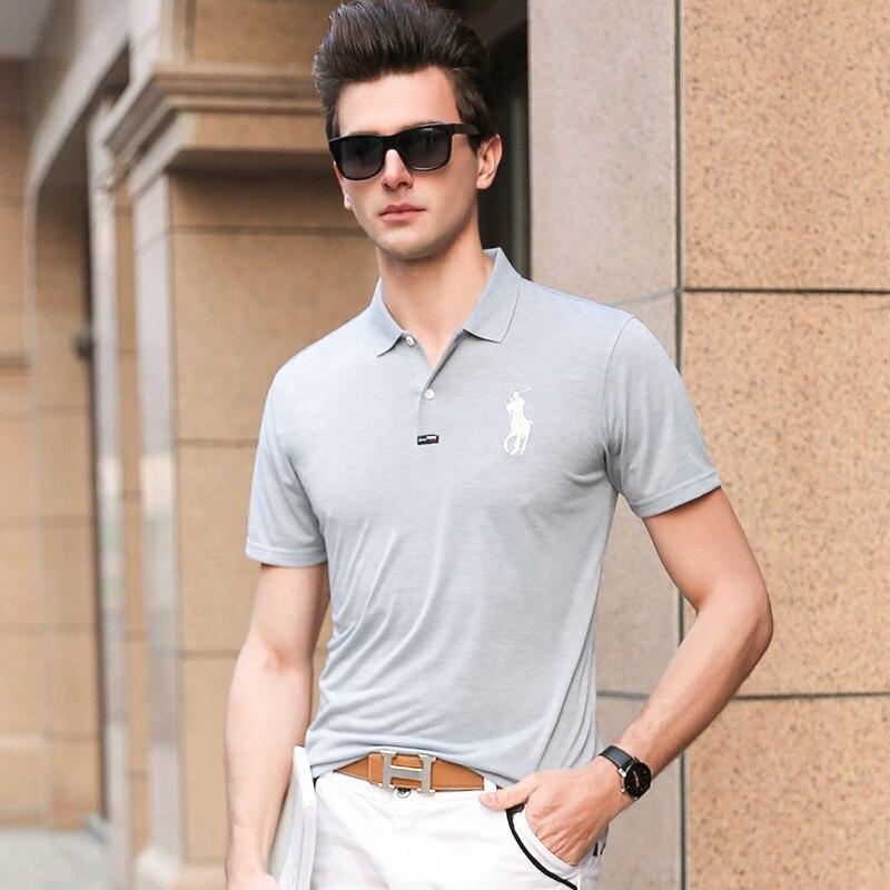 Black Gray Red Yellow 4 Color   Polo   Shirt Men Clothes Short Sleeve Aeronautica Militare Embroidery Casual Brand   Polos   Para Hombre
