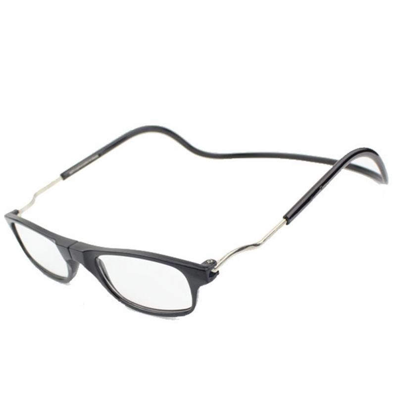 mix fashion folded magnetic reading glasses click hang