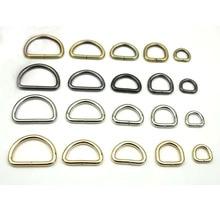 """20mm D pierścień metalowa torebka ustalenia sprzętowe, srebrny czarny mosiądz 3/4 """"3.8mm grubości 100 sztuk/partia"""