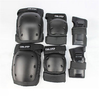 COOLSTEP kid/Adult Roller Skate Skateboard Protection Hand Wrist Elbow Knee Sports Skating Protection Pads