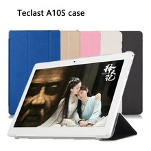 Teclast A10S tablet PC leather case Luxury Crystal Cover Black A10h(China)