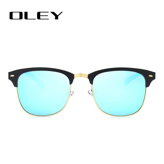 OLEY Classic Circular polarized sunglasses women HD Polaroid lenses fashion glasses Driving outdoor activities anti-UV goggles