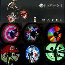 Cycle Bike Bicycle Colorful Wheel Spoke Light 192 Pcs RGB LEDs Programmable DIY