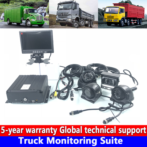 computador de video local de monitoramento do telefone movel hd 720 p caminhao conjunto de
