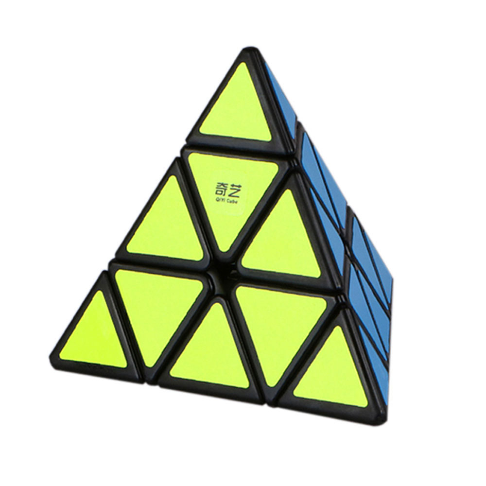 QiYi Pyraminx Speed Cube Original QiMing A Magic Speed Cube Pyramid Cubo Magico Professional Puzzle Educational Toy For Children mercury goospery leather fancy diary wallet flip case cover for ipad 2 3 4 rose yellow