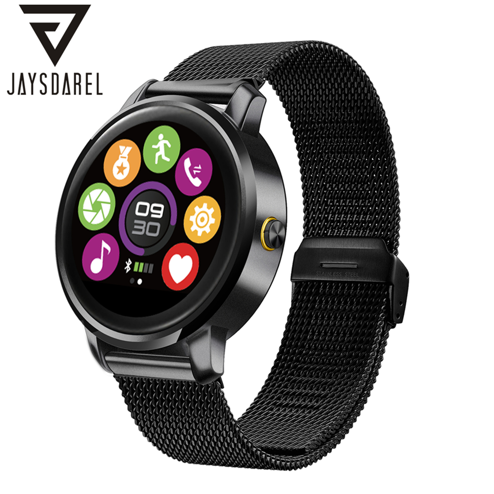 JAYSDAREL F1 Heart Rate Monitor Smart Watch Fashion 2.5D Cambered Screen Fitness Tracker IP54 Sport Smartwatch for Android iOS leegoal bluetooth smart watch heart rate monitor reminder passometer sleep fitness tracker wrist smartwatch for ios android