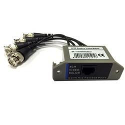 4CH HD пассивный видео компенсационный трансивер BNC для UTP RJ45 видеонаблюдения через витыми парами для AHD TVI камера CVI цифровой