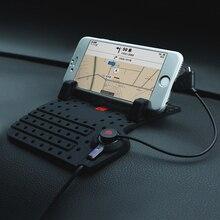 Автомобиль Нескользящие pad резиновая мобильный телефон коврики для Chevrolet Cruze AVEO Sonic Седан Хэтчбек 2009 2010 2011 2013 2014 2012