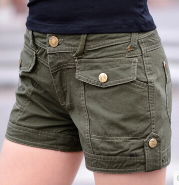 Summer Women Fashion Military Camouflage Casual Shorts Female Sexy Shorts Ladies Hot Pants