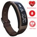 Bluetooth conversa inteligente banda b3 + talkband freqüência cardíaca pressão arterial de oxigênio pulso de fitness rastreador inteligente para ios android huawei