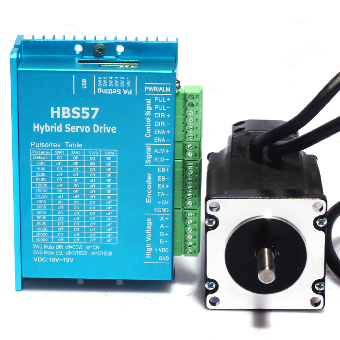 все цены на New  Hybrid Servo Drives Set HBS57 Drive + 57HSE2N-D25 Motor онлайн