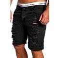 Venta caliente Nuevo 2017 Verano Casual de Marca para Hombre Shorts Cueva Mendigos Lava pantalones Cortos Casual Shorts Bermuda Corta Moda 2XL DFGG