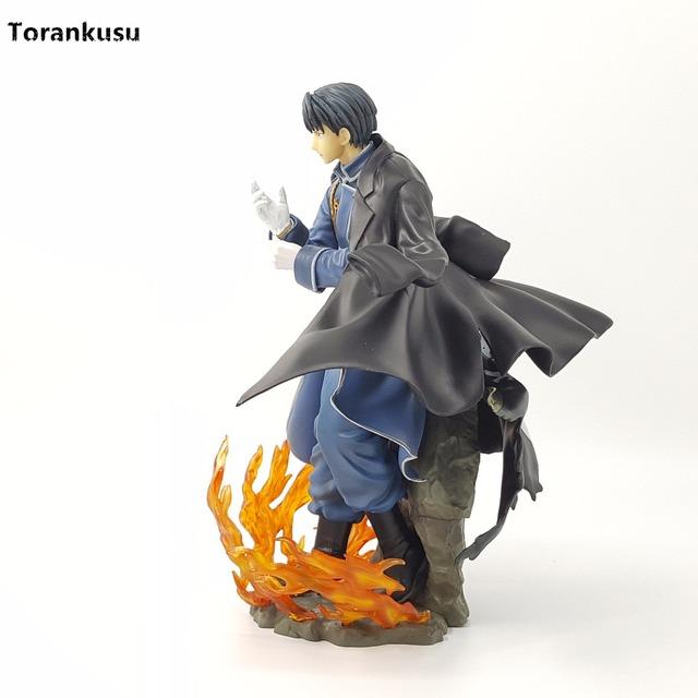 Fullmetal Alchemist Action Figure Roy Mustang 240MM PVC Model Toy Figurine Anime Fullmetal Alchemist Diorama Toys Gift