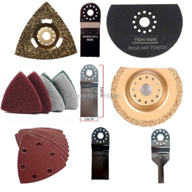 Set di accessori di lusso fai-da-te, set di lame oscillanti multifunzione da 33 pezzi. Soddisfa tutte le tue richieste di rinnovo.