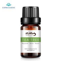 10 мл 100% Австралийское чистое эфирное масло чайного дерева для лечения акне и удаления усадочных поры лица Уход за Чайным Деревом