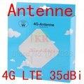 Huawei antena 35dbi 3g 4g lte antena externa 2 * sma ts9 CRC9 Conector para 3g 4g lte mifi router wi-fi dongle usb modem