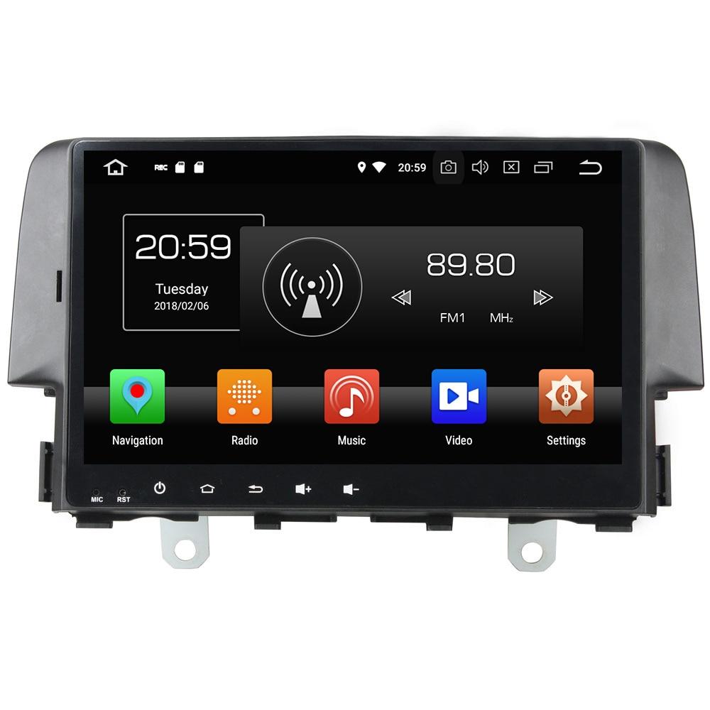 1 din Android 8 0 Octa core 10 1 4GB RAM 32GB ROM MP3 MP4 Bluetooth