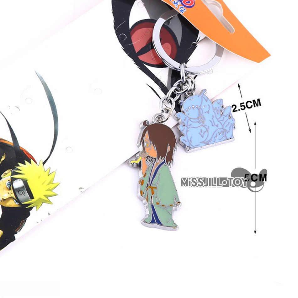 1/5 pz pendente dei monili di Modo Naruto Yagura figure doll Portachiavi in metallo Portachiavi ciondolo per Uomini donne bambini Buona REGALO