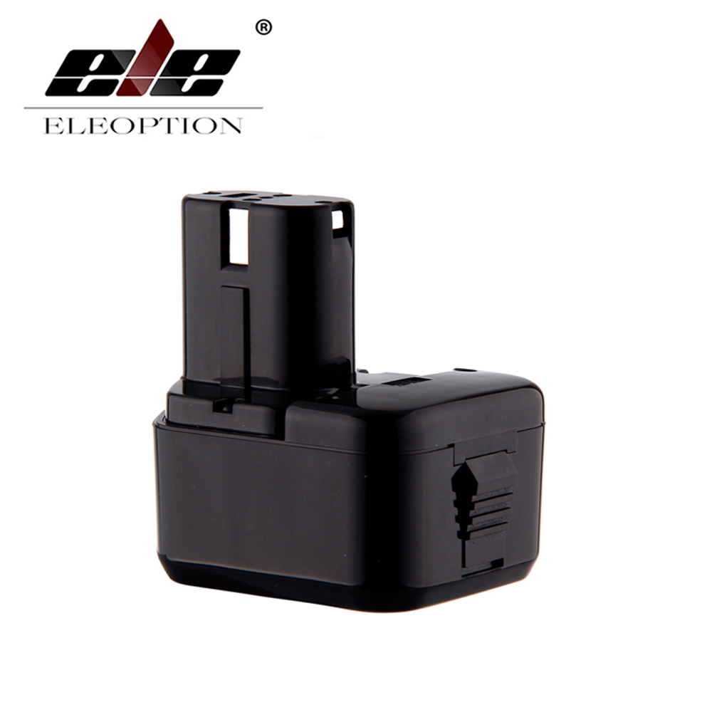 ELEOPTION 12V 3000mAh Ni-MH Replacement Cordless Drill Power Tool Battery for Hitachi EB1212S EB1214L EB1214S Free Shipping free shipping replacement electric hammer drill switch for hitachi 65a 75 85 wholesale power tool accessories