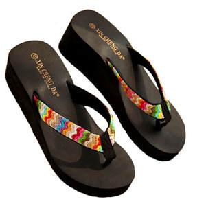 362f276079380 Women Summer Beach Flip Flops Lady Slippers Female Shoes