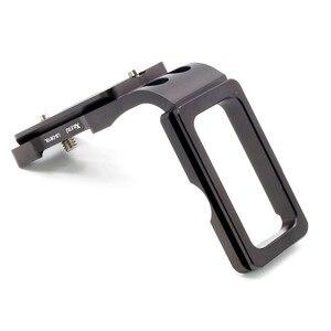 Image 2 - Xiletu LB D810L L Type professionnel plaque de support trépied plaque de dégagement rapide tête Base poignée poignée pour appareil photo D800 D800E D810