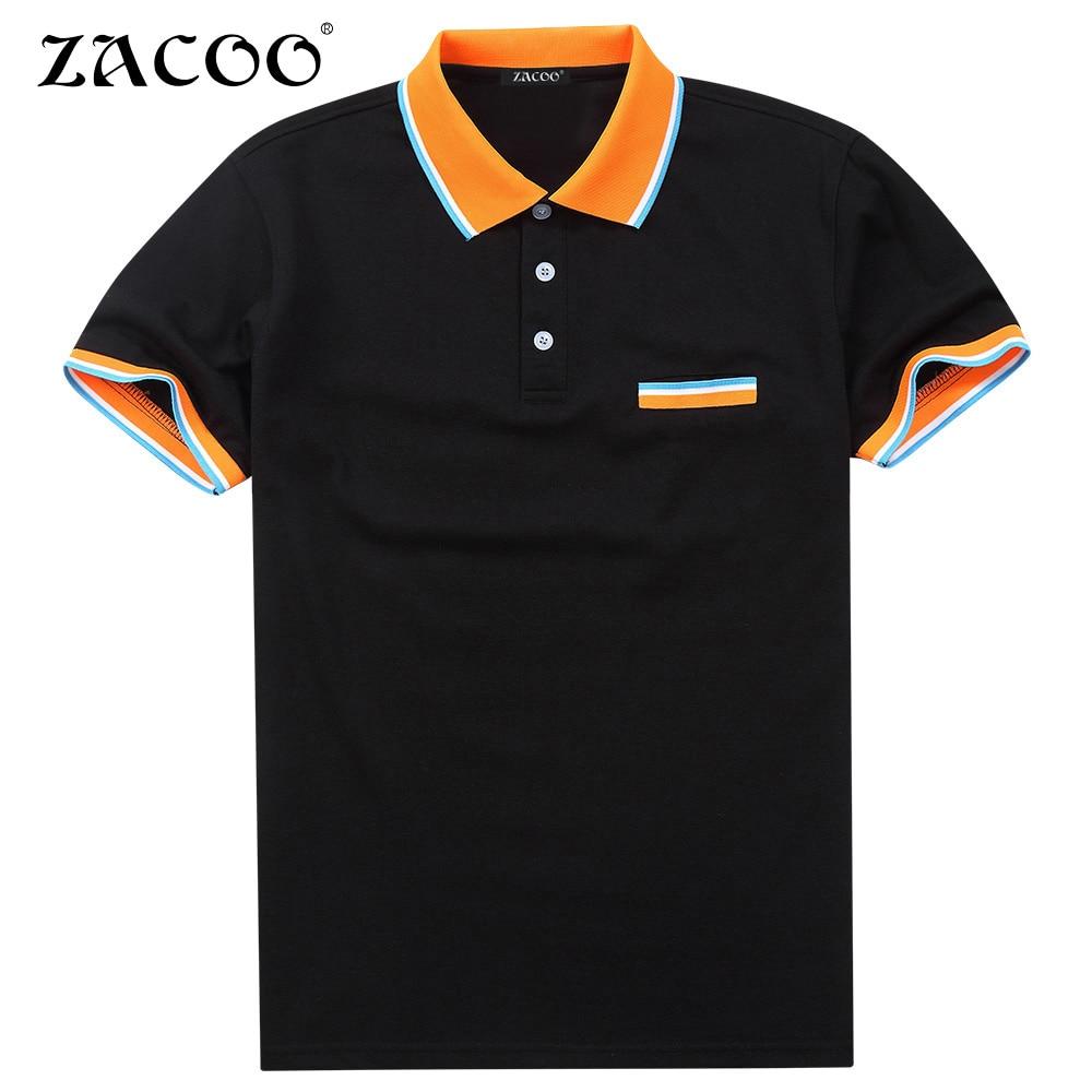 ZACOO New font b Polo b font Shirt font b Men b font Mesh font b