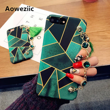 Korea Aoweziic Tide brand creativity personality luxury for iphone 8 X 7 plus phone case hard shell 6S atmospheric female models