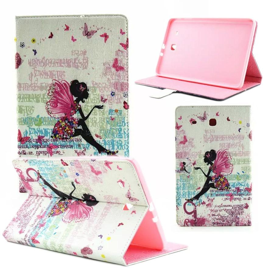 T560 Case Luxury Butterflies Women Diamond PU Leather Cover Cases for Samsung  Galaxy Tab E 9.6 Inch Tablet T560 T561 Funda Capa fba3498b3b