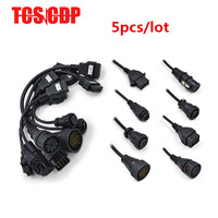 5pcs Lot OBD II OBD2 Truck Cables Diagnostic Cables For TCS PRO Ds150e Ds150 DHL Free