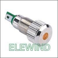ELEWIND metal pilot lamp(PM081F-D/O/12V )