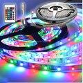 NOVO!! 3528 RGB SMD 60 LED/M LED Light Strip + 24key Controle Remoto MINI