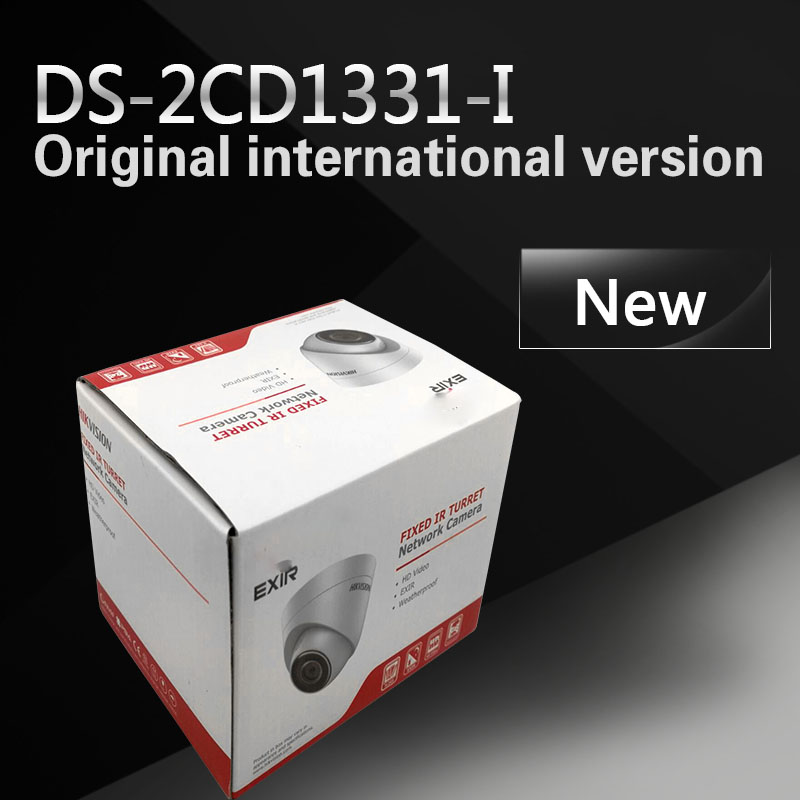 In stock DHL free shipping DS-2CD1331-I replace DS-2CD2335-I Network IP camera, Full HD1080p real-time,IP66