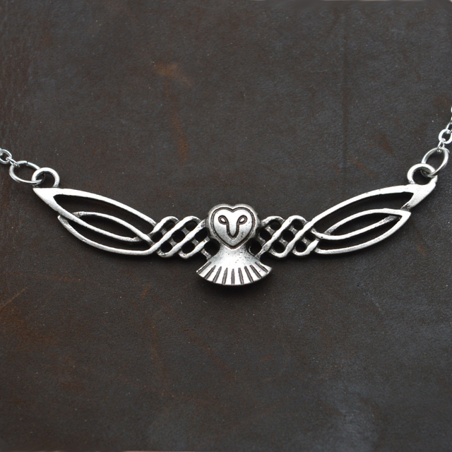 Dropshipping Fashion owl Pendant necklace bird necklace for women charm choker n