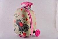 CARRYLOVE милый мультфильм, подарок для детей спортивные сумка в виде скутера рюкзак сумки на колёсиках бизнес путешествия интернат чемодан