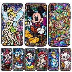 Pooh Fairy Tattoo Alice Mickey Mouse Deluxe TPU Rubber Phone Case iPhone 8 7 6 6s Plus X 5 5s SE XS XR XS MAX cover 1