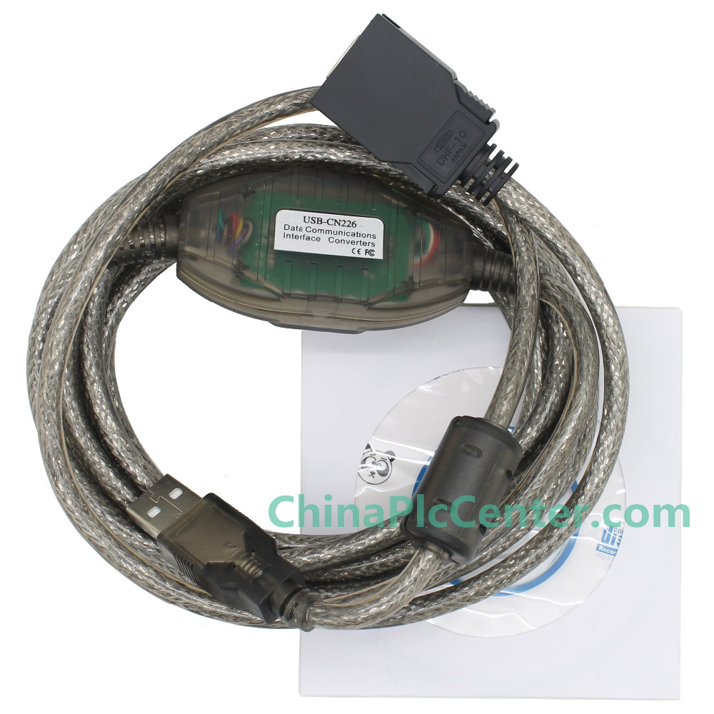NEW Smart USB-CN226 Programming Cable Imported FT232RL chip for CS/CJ CPM2C PLC,Support WIN7 free shipping cp3 pm02 plc cable cp3pm02 convert cable from1747 cp3 to micrologix plc windows xp win 7 win8 usable