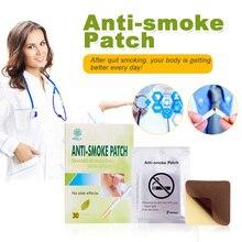 Kongdy бренд анти дыма патч 30 шт./кор. курения Pad 100% натуральный травяной бросить курить патч здоровья терапии