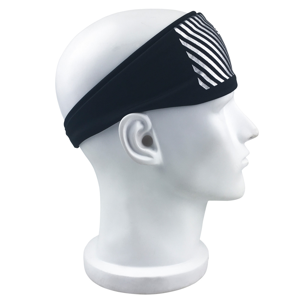 Fashion Women Men Sport Sweatband Headband Hair Elastic Running Fitness Sports Yoga Smooth Soft Head Band Hair Gym ...