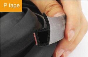 Image 2 - Interni Auto Cariche Adesivi Anti Polvere Insonorizzate di Tenuta Grande D Z P Tipo di Isolamento Acustico Auto Sigillanti Guarnizione Della Porta striscia